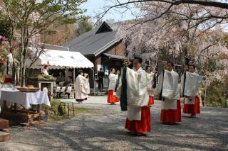 古法華寺 春祭り