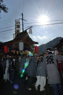御杖神社秋祭り