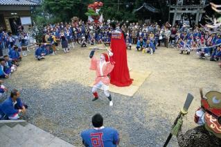 志賀王子神社の秋祭