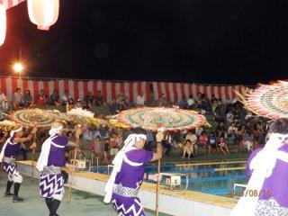 隼プール祭