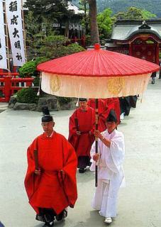 太皷谷稲成神社春季大祭