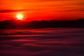 高谷山初日の出