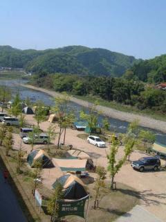江の川カヌー公園さくぎキャンプ場