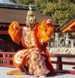 菊花祭 -舞楽奉奏-
