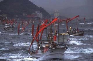 しものせき海峡まつり・源平船合戦(海上パレード)