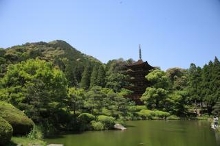 瑠璃光寺五重塔1