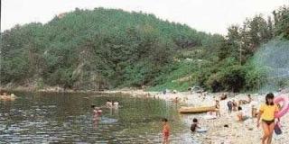 深まてかた海水浴場(キャンプ場)