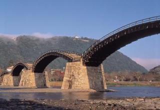 錦帯橋(夏)
