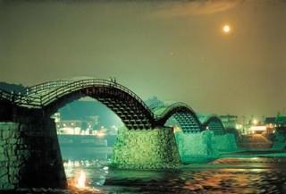錦帯橋夜景