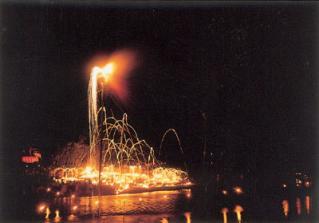 ふるさとの火祭り「周防 柱松」