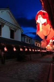 白壁の町並み(柳井市古市金屋地区伝統的建造物群保存地区)