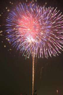 Yoshinogawa City Fireworks Display★F2904
