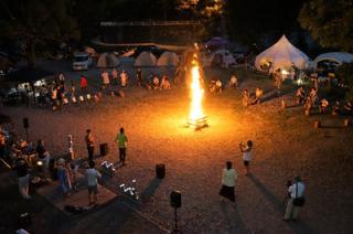 月ヶ谷温泉村キャンプ場