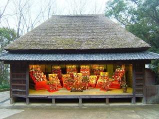 四国村 雛祭り