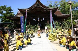 白鳥神社秋祭り