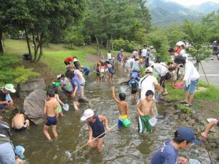 水辺の納涼祭