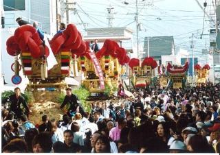 【2020年中止】伊予三島秋祭り