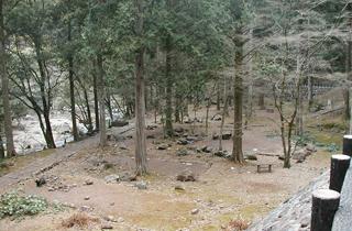 滑床渓谷キャンプ場