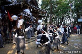西ノ宮八幡宮大祭(蓮池太刀踊り)