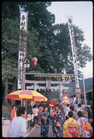 川上様夏祭り