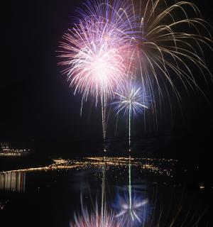 第57回奥物部湖湖水祭