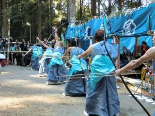 星神社のお弓祭り