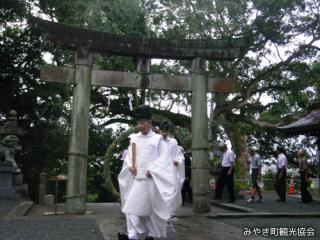 千栗八幡宮夏越祭