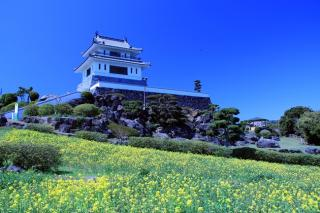 竹崎城的舊址瞭望台