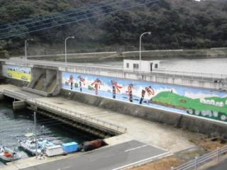 鷹島海中ダム湖