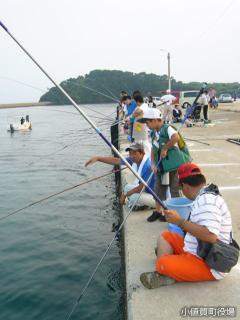 ファミリーアジ釣り大会