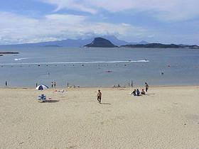 カームビーチ(西目海水浴場)