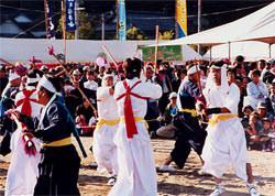 鶴喰棒踊り
