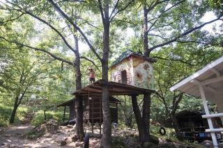 バルンバルンの森(洞門キャンプ場)