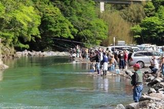 【開催延期】上椎葉釣り大会