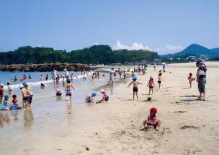 大川島海水浴場