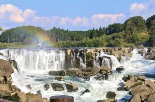 曽木の滝虹