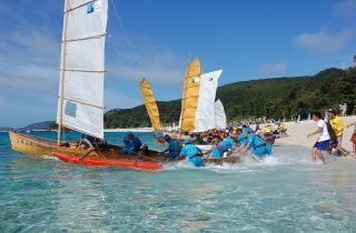 【2020年中止】サバニ帆漕レース