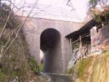 貝田姥神沢旧鉄道レンガ橋