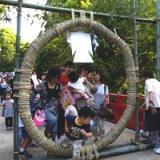 氷川神社の茅の輪くぐり