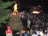 中里の火の花祭り