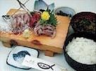 Seared horse mackerel