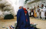Takarayama Temple Wisdom Cave Make a Sacred Bonfire with Brushwood Goma Attendant★29344ba2212053641