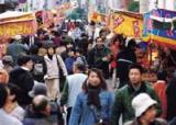 徳島のえびす祭