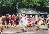 油井の豊年踊り
